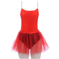 Kit Carnaval Feminino Body Estampado + Saia Tutu Lisa