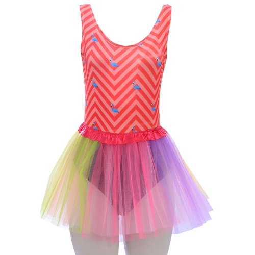 d86a7675d0 Kit Feminino Carnaval Body Estampado Saia Tutu Colorida Compre