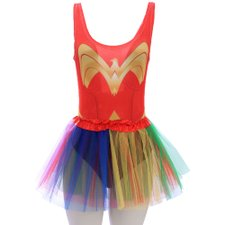 Kit Feminino Carnaval Body Estampado + Saia Tutu