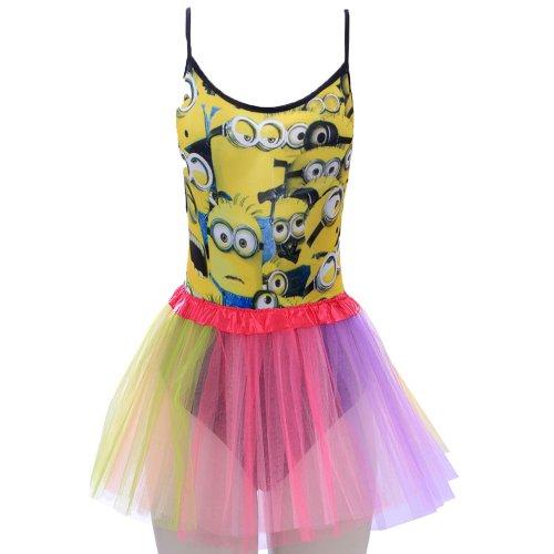 eb7ee9f5780 Kit Carnaval Body Regata Estampa De Personagens + Saia Tutu Colorida ...