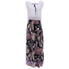 390786e1b2 comprar. Vestido Longo Regata Godê Estampa Floral