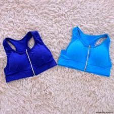 Kit Com 2 Top Cropped Neon Fitness Com Bojo Feminino