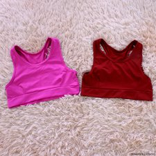 Kit Com 2 Top Cropped Neon Fitness