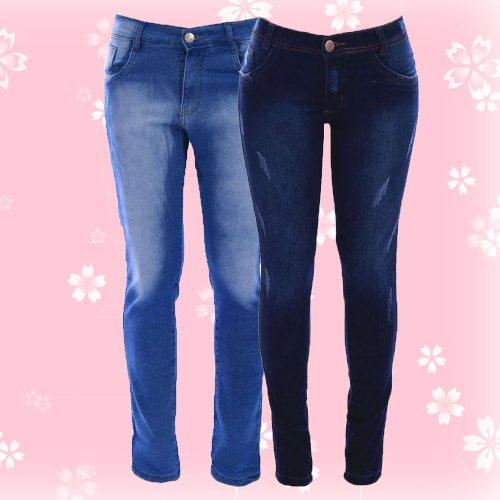 7ab054474 Kit 2 Calças Jeans Para Ele E Ela Namorados - Compre Agora - Feira ...