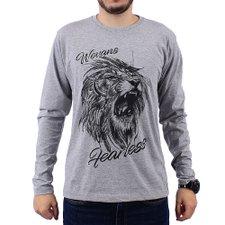 34b0f52df3 comprar. Camiseta Masculina Manga Longa Estampa Em Alto Relevo