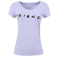 Camiseta Feminina Baby Look Friends