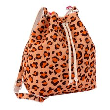 Bolsa Saco Infantil Estampa Animal Print