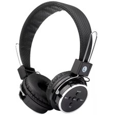 Headphone Stereo Sem Fio Micro Sd Usb Bluetooth Wireless