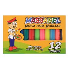 Kit Infantil 12 Massinhas Colorida Para Modelar