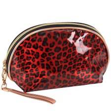 Necessaire Multiuso Redonda Estampa 3D Animal Print