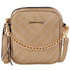 Bolsa Shoulder Bag Feminina Com Alça De Corrente