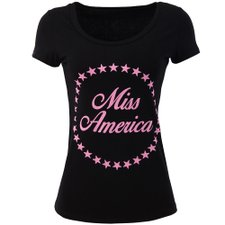 Camiseta Baby Look Feminina Estampa Frontal Manga Curta