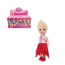 Boneca Little Amy Pop Girls Colorida Brinquedo Infantil