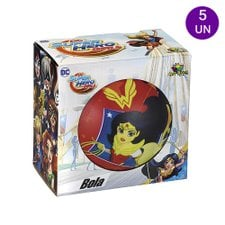 Kit 5 Bolas Vinil De Personagens Infantil Colorida