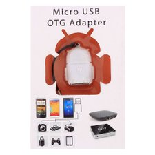 Adaptador Micro USB OTG Para USB Smarthpone Tablet Mouse