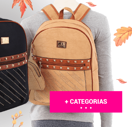 + Categorias de Malas e Mochilas