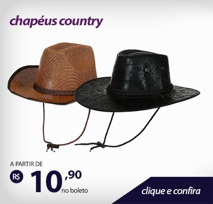 Chapéus Country