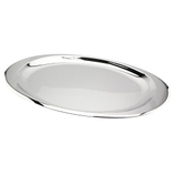 TRAVESSA INOX OVAL 36X21,5CM 18723 REGENT PC