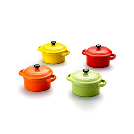 MINI PANELA COLORIDA 12,5CM C TPA RED 2824 BON GOURMET PC