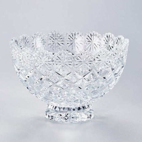 FRUTEIRA CRISTAL 20CM DIAMOND 3324 LYOR PC