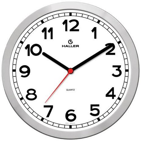 RELOGIO NEW YORK PRATA 311290005 CLOCK DESIGN PC