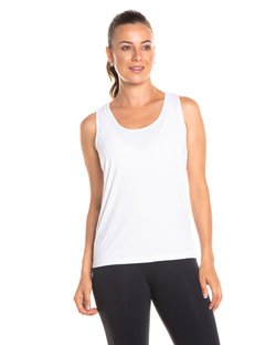 Regata nadador dry fit branco