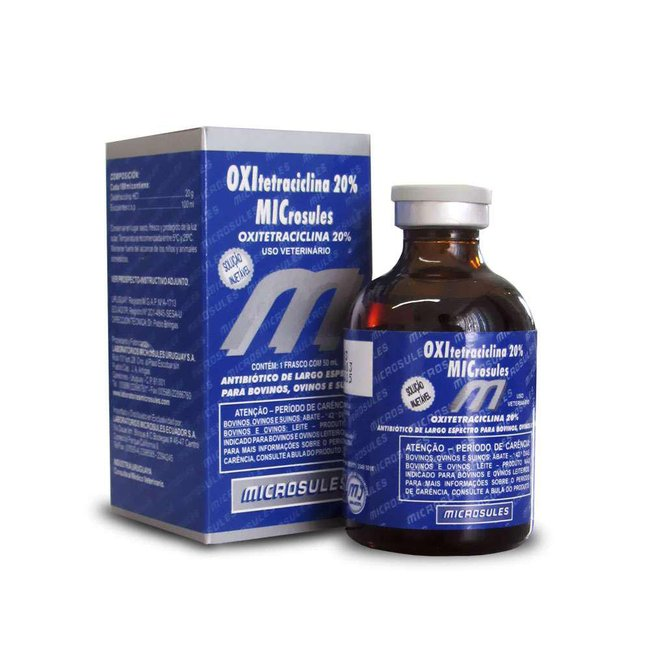 Oxitetraciclina 20% La Microsules - 50 ml