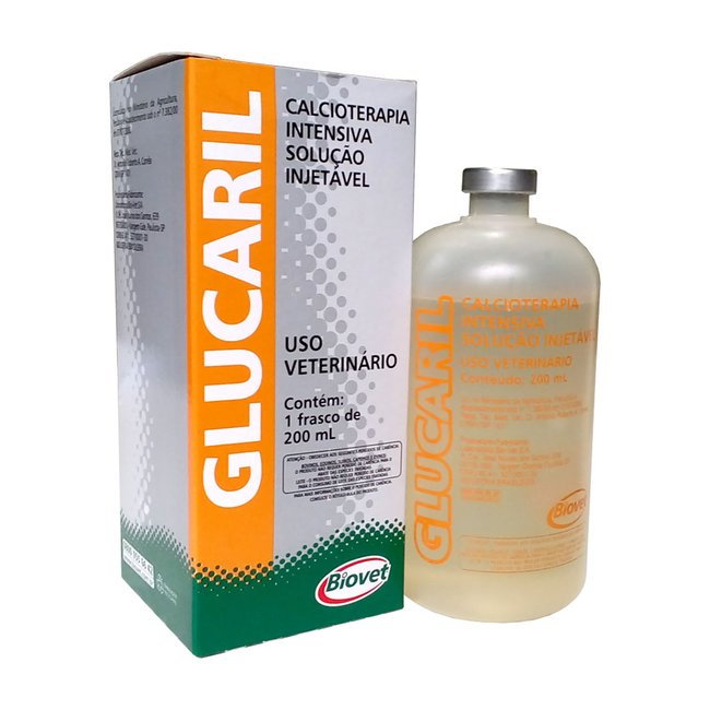 Glucaril Injetável - Biovet - 200 ml