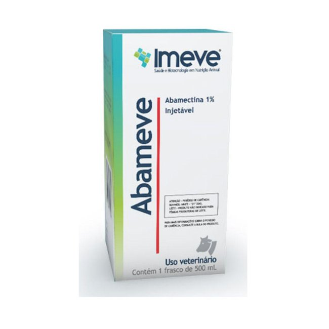 Abameve 1% Injetável - 500 ml