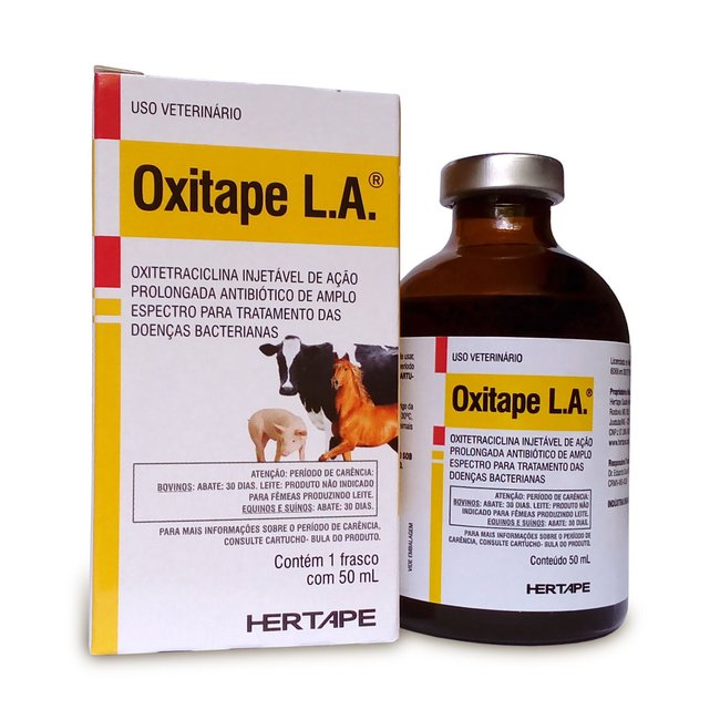 Oxitape injetável La - 50 ml