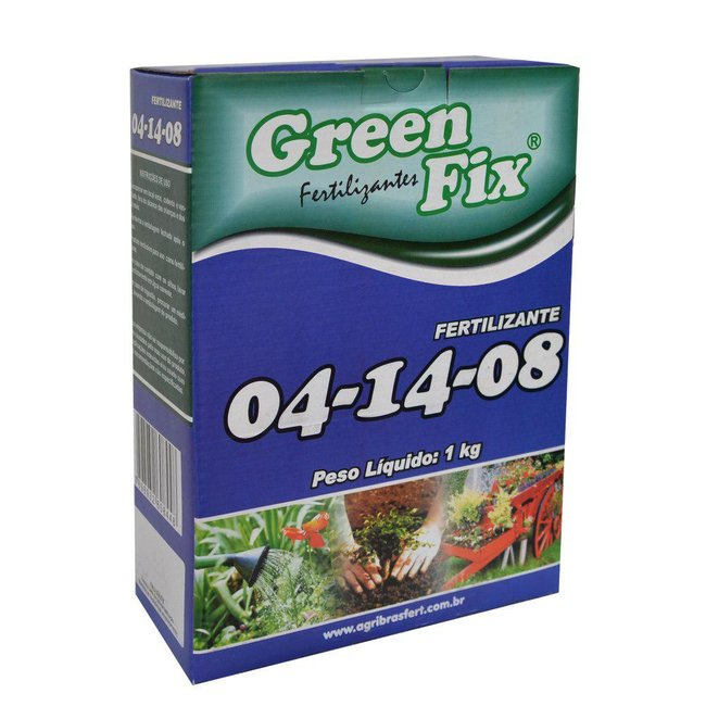 Adubo 04-14-08 Green Fix - 1 Kg