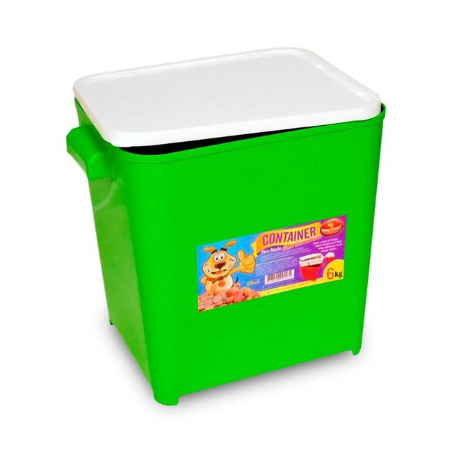 Container Furacao Pet - 6 kg
