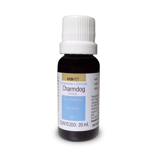 Carrapaticida Sarnicida Charmdog - 20 ml