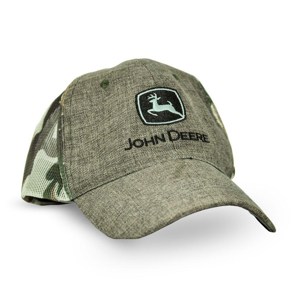 Boné Marrom Camuflado - John Deere  624f1e867b2
