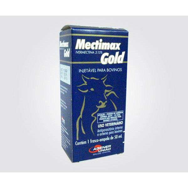 Mectimax Gold Injetável 3,15% - Ivermectina - 50 ml
