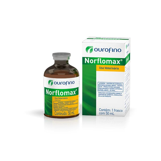Norflomax Injetável - 50 ml
