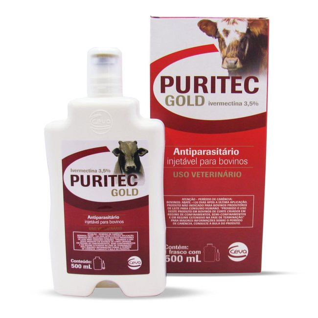 Puritec Gold 3,5% injetável - 500 ml
