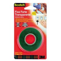 Fita Dupla Face Fixa Forte 12mmx2m - 3M