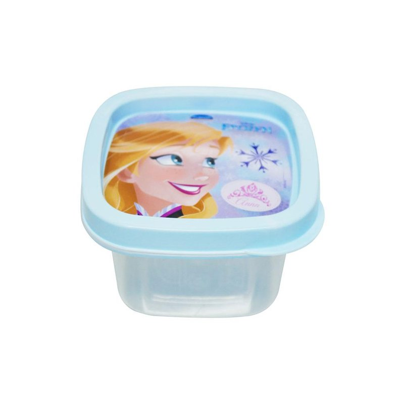 Pote Quadrado 200ml Frozen - Plasútil