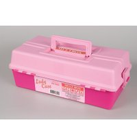 Maleta Lady Case Com 2 Bandejas Rosa - Multbox