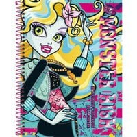 Caderno Capa Dura Universitário Monster High 1 Matéria - Tilibra