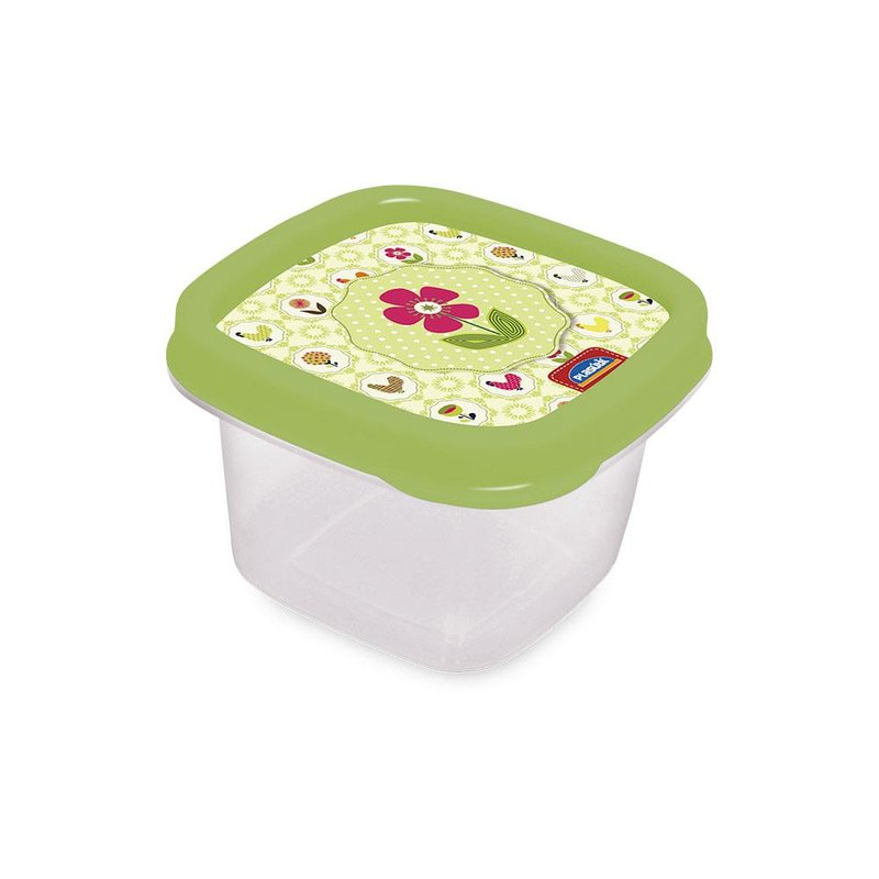 Pote Decora Ht Quadrado 200ml - Plásutil