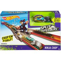 Pista Hot Wheels Split Speeders Ninja - Mattel