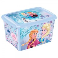 Caixa Decorada Frozen 46l - Plasútil