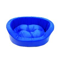Cama Europa Top M Azul - Sleep Easy