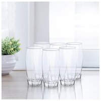 Conjunto 6 Copos Capri Long Drink 410ml - Nadir