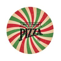 Sousplat Decorativo Hot Pizza Com Base 35cm - Nsw