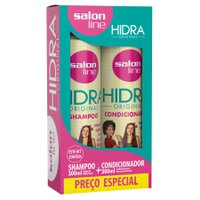 Kit Shampoo + Condicionador Hidra Original 300ml - Salon Line