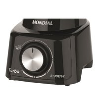 Liquidificador Turbo Full Black 127v - Mondial