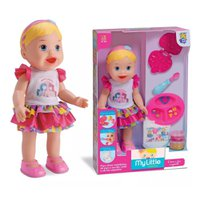 Boneca My Little Collecttion Come e Faz Caquinha - Divertoys